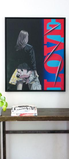 vente d art en ligne - peinture contemporaine de Dominique Mulhem