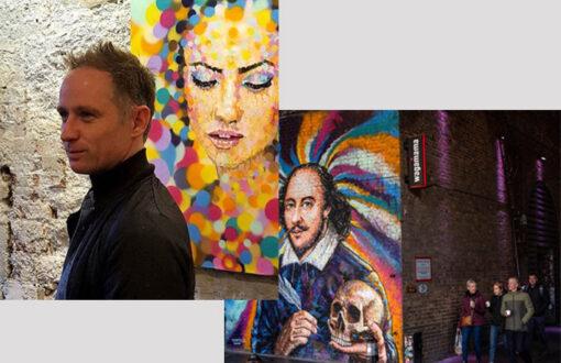 James Cochran aka Jimmy C - portrait de l'artiste urbain