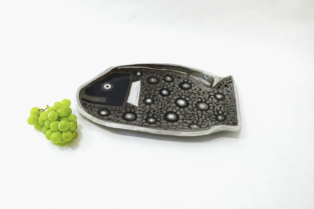 Céramique - poisson plat - Cécile Colombo - fond blanc