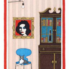 Andy Warhol & le bouledogue français - Damien Nicolas Roux - oeuvre contemporaine