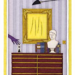 Lucio Fontana & le gant de velours - Damien Nicolas Roux - oeuvre contemporaine