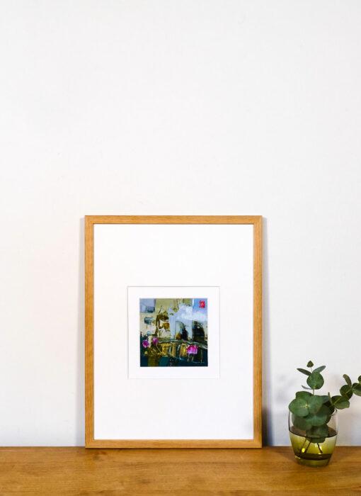 Peinture - La mémoire de l'origine - Perrine Rabouin - vue situation