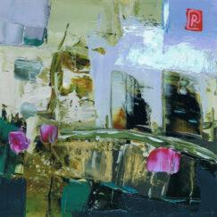 Peinture - La mémoire de l'origine - Perrine Rabouin - œuvre détourée