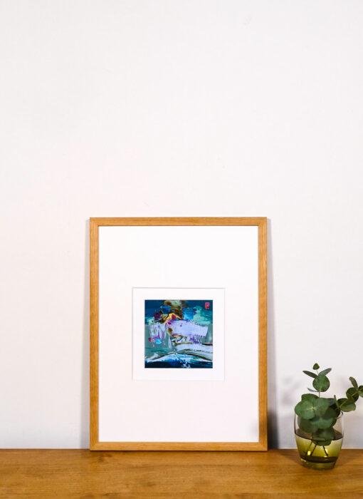Peinture - Le chant natif - Perrine Rabouin - vue situation