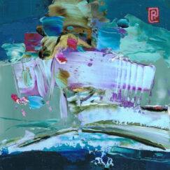 Peinture - Le chant natif - Perrine Rabouin - détail dessin
