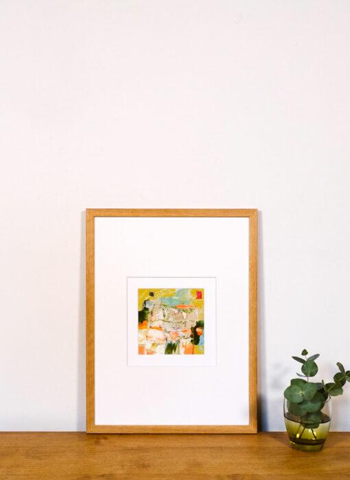 Peinture - Le scintillement du réel - Perrine Rabouin - vue situation