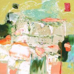 Peinture - Le scintillement du réel - Perrine Rabouin - œuvre détourée
