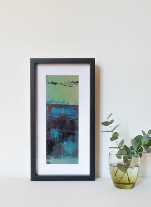 Peinture - Les clapotis du temps - Perrine Rabouin - vue situation