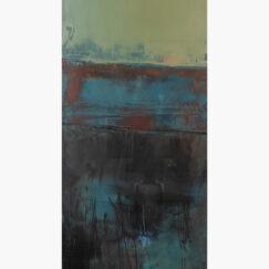 Peinture - Les clapotis du temps - Perrine Rabouin - œuvre détourée