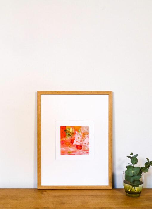 Peinture - Pour un sourire - Perrine Rabouin - vue situation