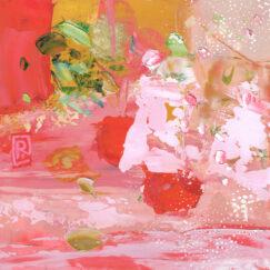 Peinture - Pour un sourire - Perrine Rabouin - œuvre détourée