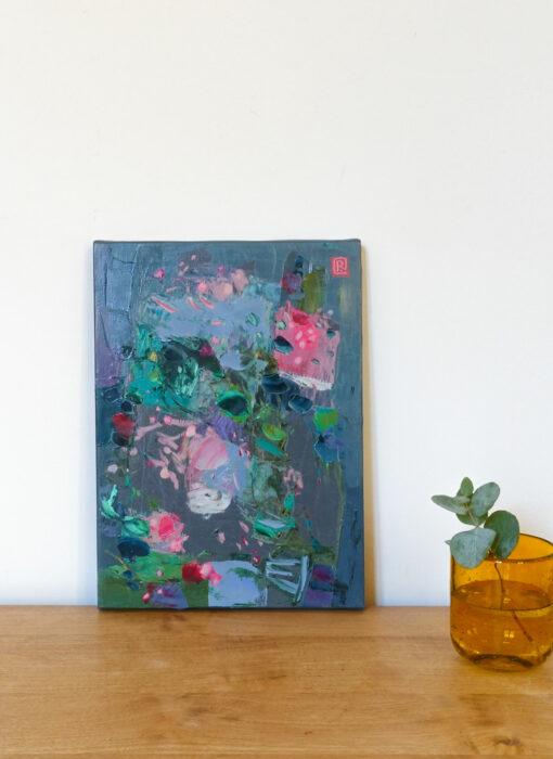 Peinture - Un air distrait - Perrine Rabouin - vue situation