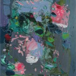 Peinture - Un air distrait - Perrine Rabouin - œuvre détourée