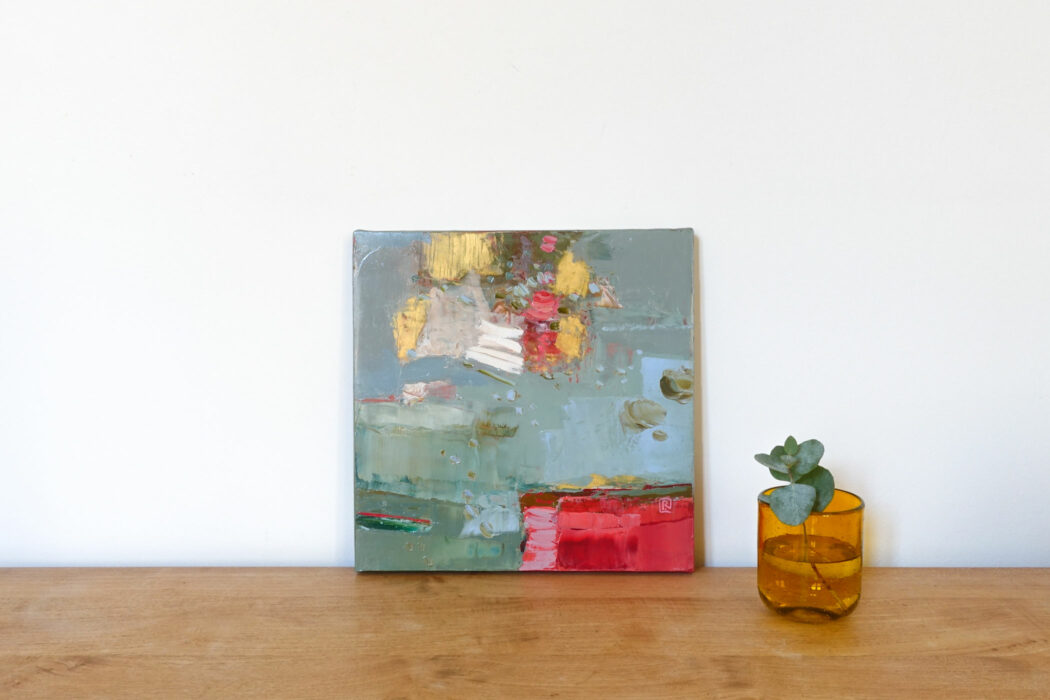 Peinture - Une fois en passant - Perrine Rabouin - vue situation