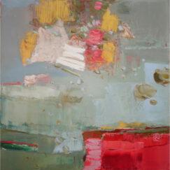 Peinture - Une fois en passant - Perrine Rabouin - œuvre détourée