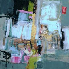 Peinture - Un souffle d'abstraction - Perrine Rabouin - œuvre détourée