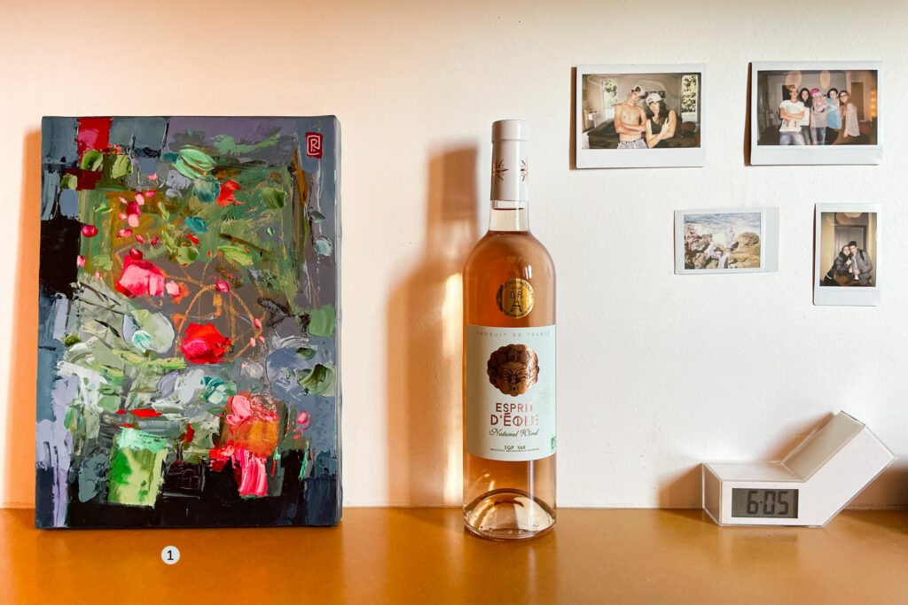 peinture à l'huile contemporaine