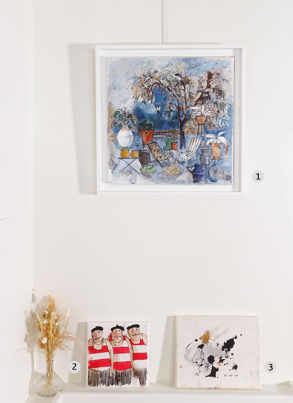 Peintures - galerie d art contemporain