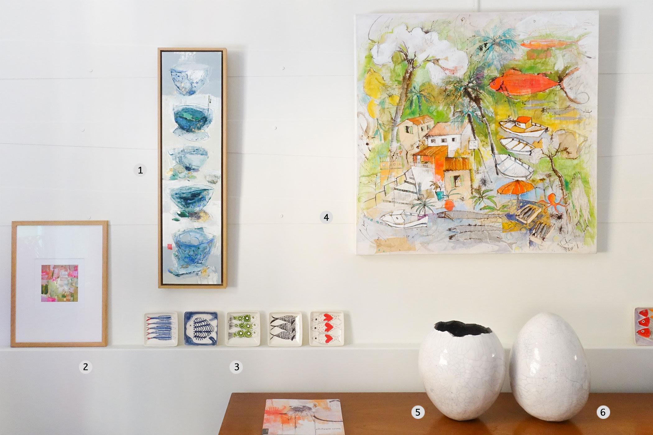 galerie d art contemporain - vue d ensemble