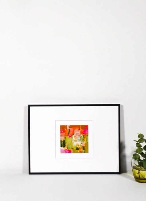 Peinture technique mixte - Toute la vie - Perrine Rabouin - œuvre contemporaine