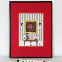 Victor Vasarely & le poisson fugueur - Damien Nicolas Roux - art contemporain